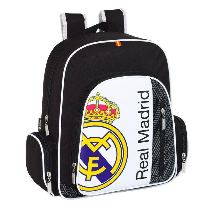 Mochila grande Real Madrid - http://regalosoutletonline.com/regalos-originales/cole-nino/mochila-grande-real-madrid