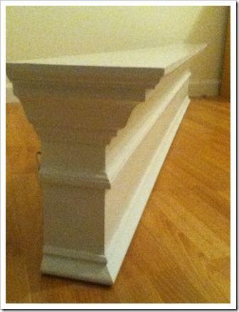 diy mantel shelf diy pinterest shelves mantles and. Black Bedroom Furniture Sets. Home Design Ideas