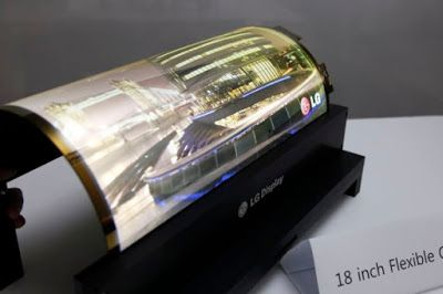 LG Will Launch A TV With A Screen That Can Be Folded #LG Technology