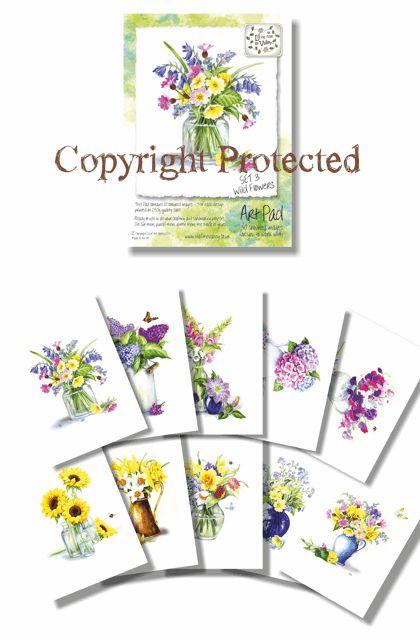 Art Pad 3 - Wild Flowers