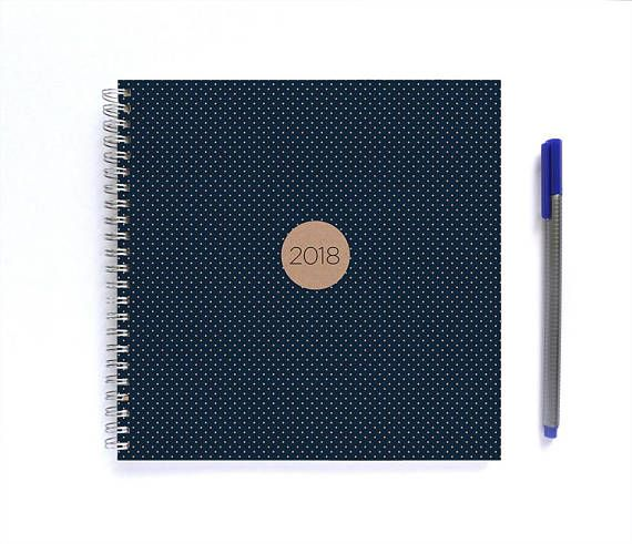 Help yourself (or a friend) stay organised in the new year with a handmade 2018 diary. Designed, printed & bound by me, Miss Meg, in the Blue Mountains NSW, Australia.  * P L E A S E have a look at my shop policies and shipping info here: http://www.etsy.com/shop/MadeByMissMeg/policy *