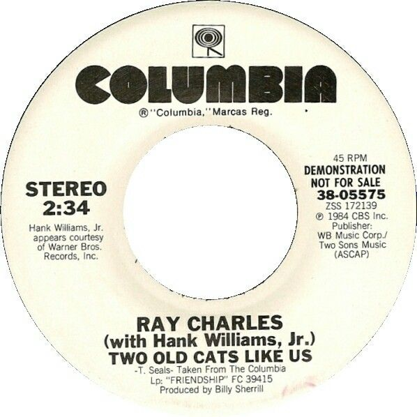 Two Old Cats Like Us with Ray Charles (1984)