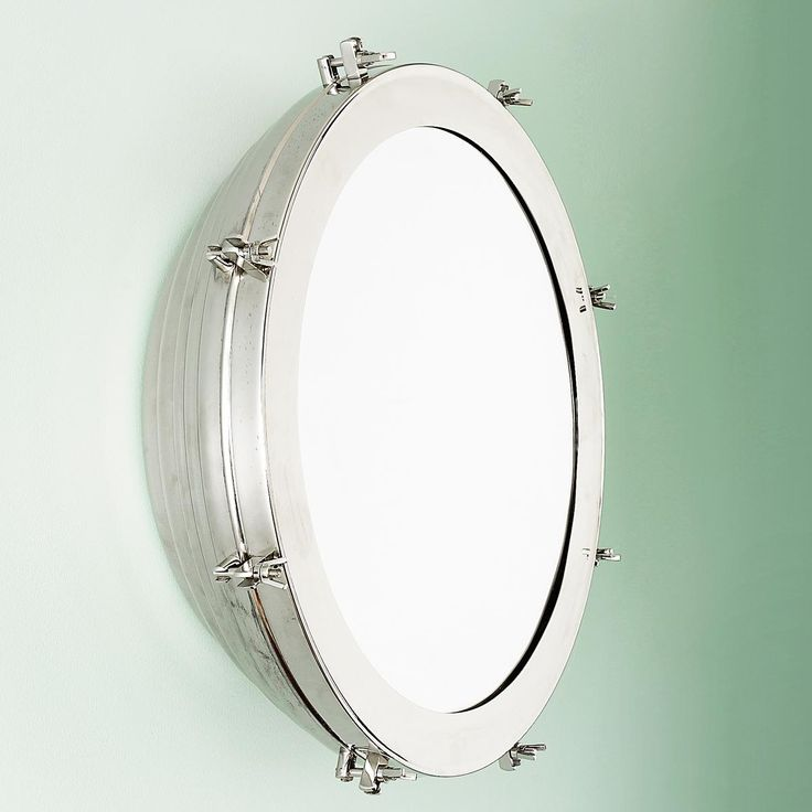10 images about porthole ideas on pinterest dhurrie for Porthole style mirror