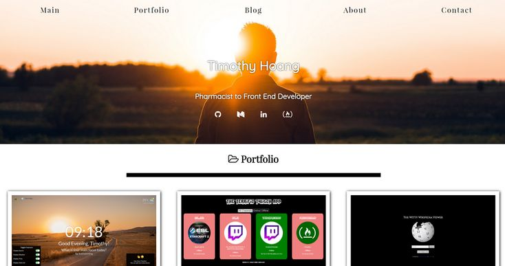 25 Good Portfolio Websites