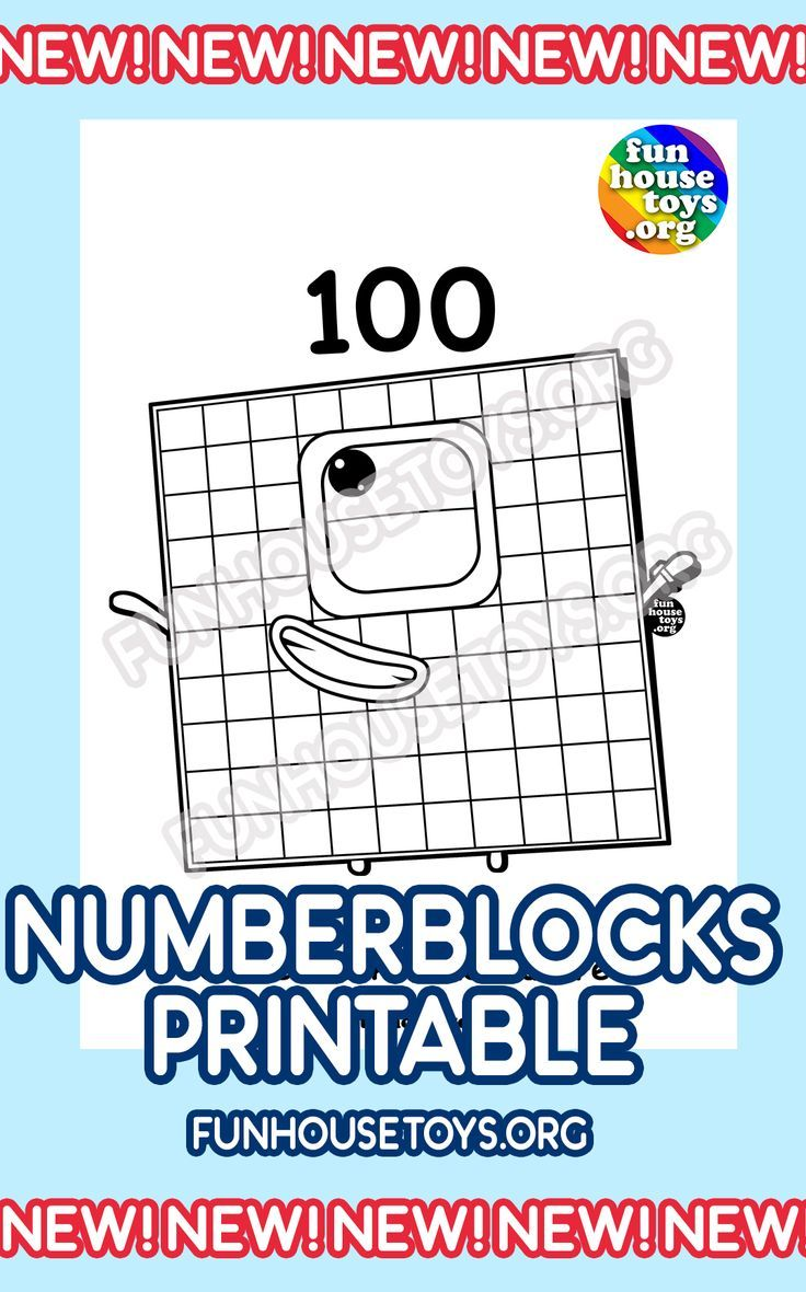 Numberblocks Printables In 2020 Fun Printables For Kids Printable Coloring Pages Coloring Pages