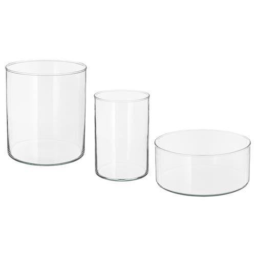 ikea viljestark vase clear glass en 2019 vase vase. Black Bedroom Furniture Sets. Home Design Ideas
