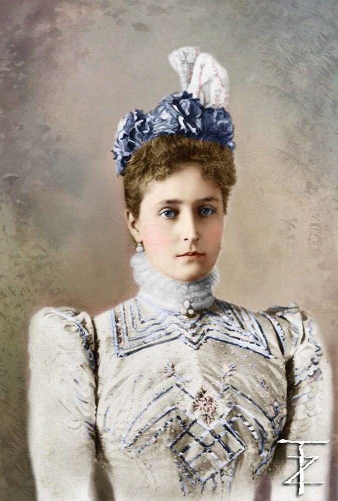 Empress Alexandra Feodorovna | Romanovs .Imperial Family ...