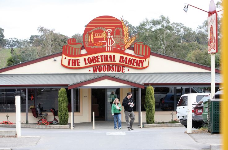 The famous Lobethal Bakery at Woodside