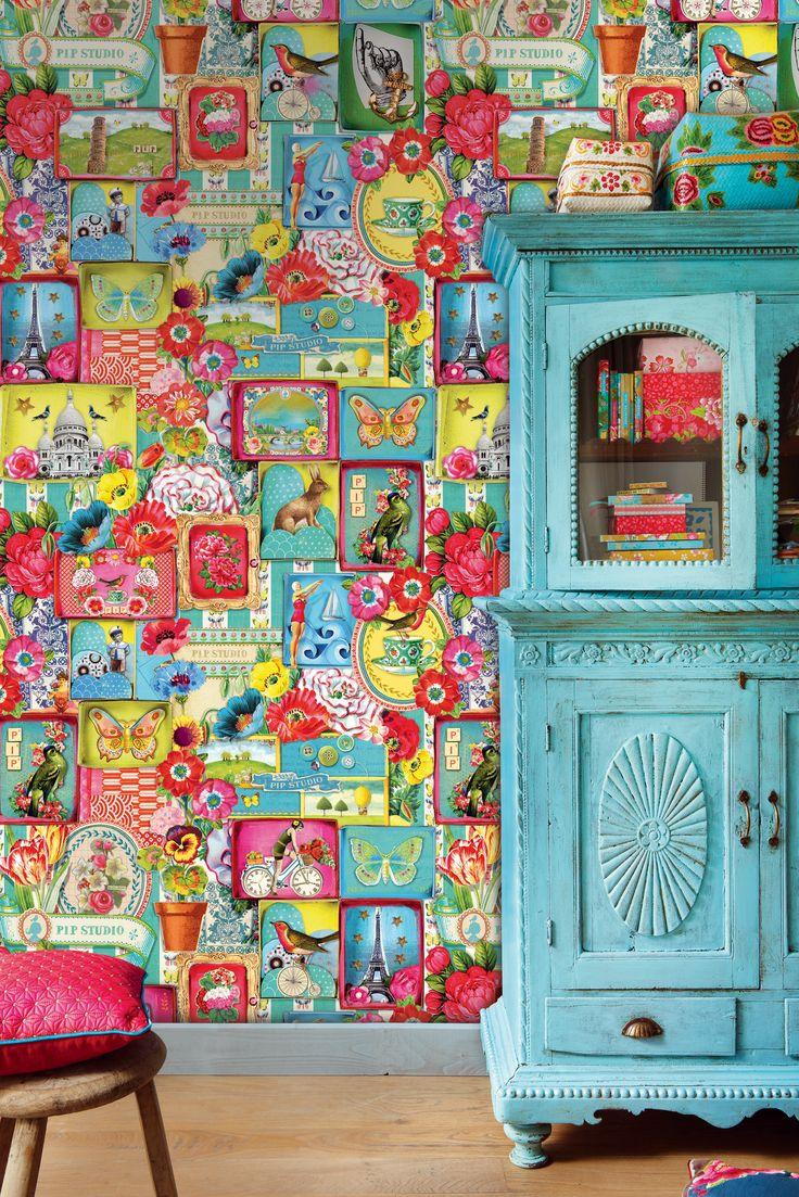 31 best Tapeter images on Pinterest | Bauhaus and English : rusta tapeter : Inredning
