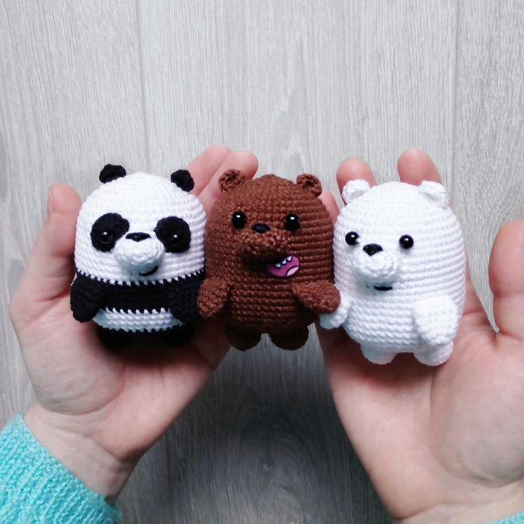 PDF Мы Медведи. FREE amigurumi crochet pattern. Бесплатный м… – Ai Dou