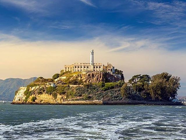 Alcatraz, USA Cruise on San Francisco Bay to Alcatraz Island, the former federal prison, which was home to the likes of Al Capone. Aussies, enjoy the smell of Eucalyptus here...unfortunately, there's no koalas though hehe. #travelintoliving  Pic @helloworldau