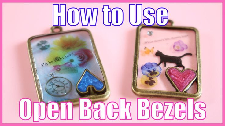 I hope this video was easy to understand! If you have any questions please leave them in the comments below! If you're looking to buy open back bezels, I wou...