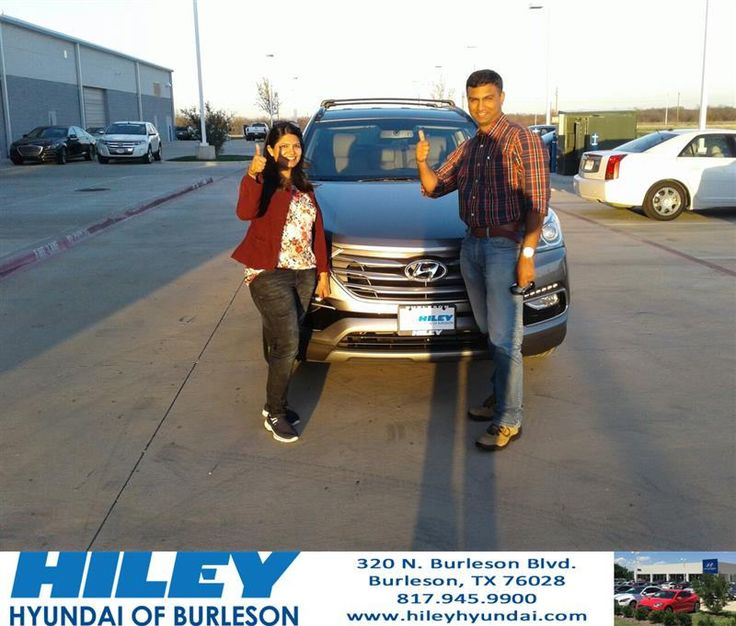 https://flic.kr/p/Sq6yb4 | Congratulations VIVEK on your #Hyundai #Santa Fe Sport from Brian Grabowski at Hiley Hyundai of Burleson! | deliverymaxx.com/DealerReviews.aspx?DealerCode=KNWA