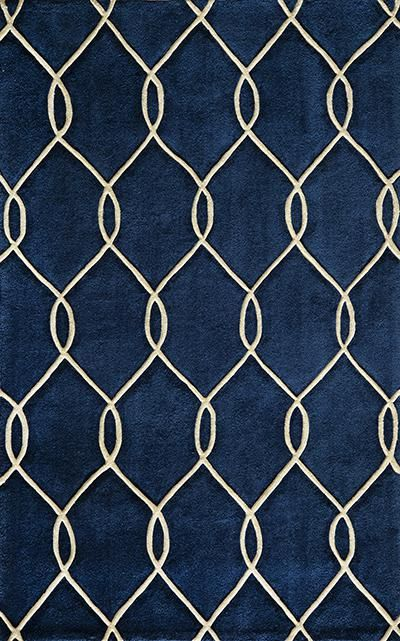 Momeni Bliss Navy Bs 12 Blue Area Rugs With Interlocking