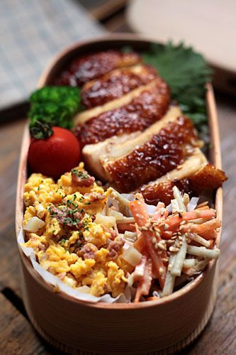 Japanese Boxed Lunch, Bento, お弁当                                                                                                                                                                                 More