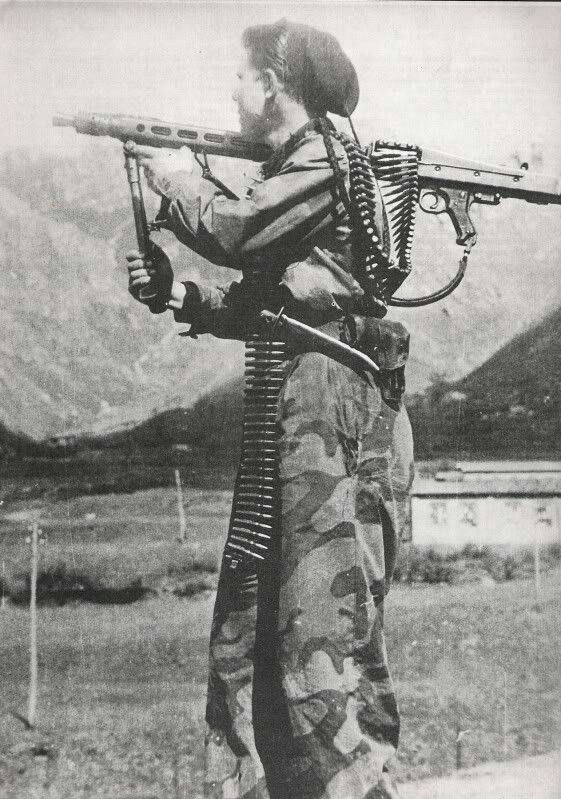R.S.I. soldier MG 42, pin by Paolo Marzioli