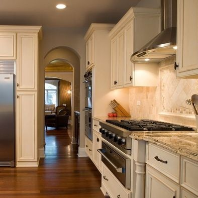Santa Cecilia on cabinets around refrigerator ideas