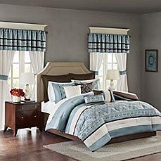 image of Madison Park Essentials Jelena 24-Piece Complete Comforter Set
