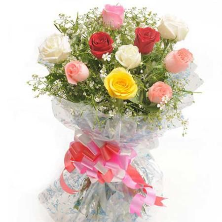Their beauty lights up the room - return the favor with our vibrant bouquet of 10 multicolored roses, in all the colors they love. http://www.fnp.com/flowers/colorful-hue/--clI_2-pI_27388.html