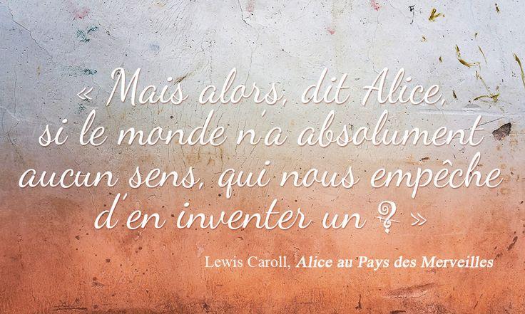Alice Cherche un Sens - par Les Contes Succulents - Alice in Wonderland