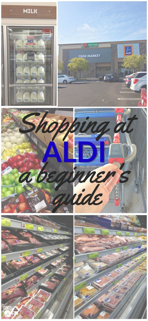 Here you'll find everything you need for navigating your first trip to ALDI in this Shopping at ALDI: a Beginner's Guide post! #ad | Shopping Tips | ALDI Shopping Guide | ALDI Shopping Tips