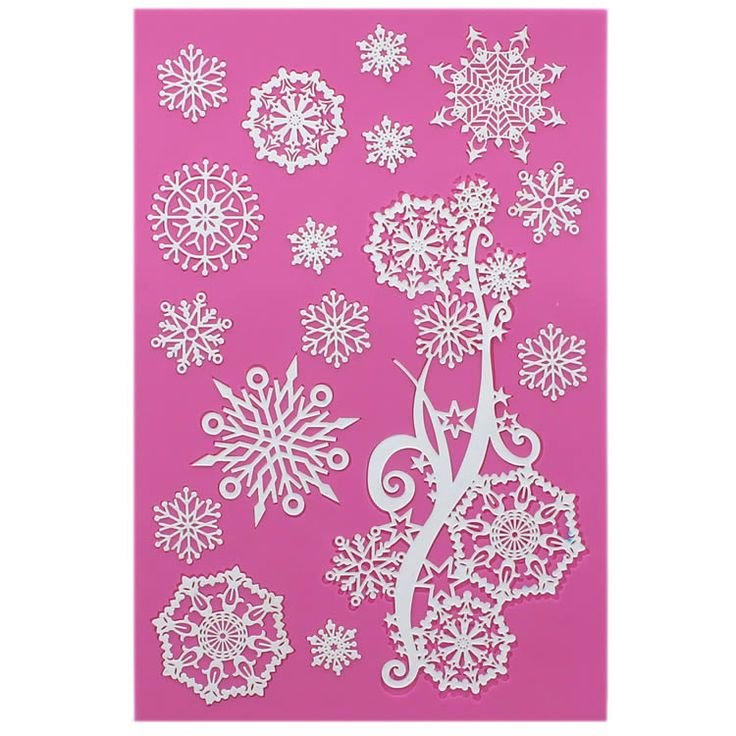 Crystal Large Mat - Cake Lace Mat By Claire Bowman, Cakelace