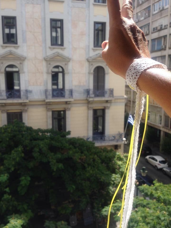 handmade bridesmaids bracelets by lace http://at.jamjar.gr/1pSWBAT