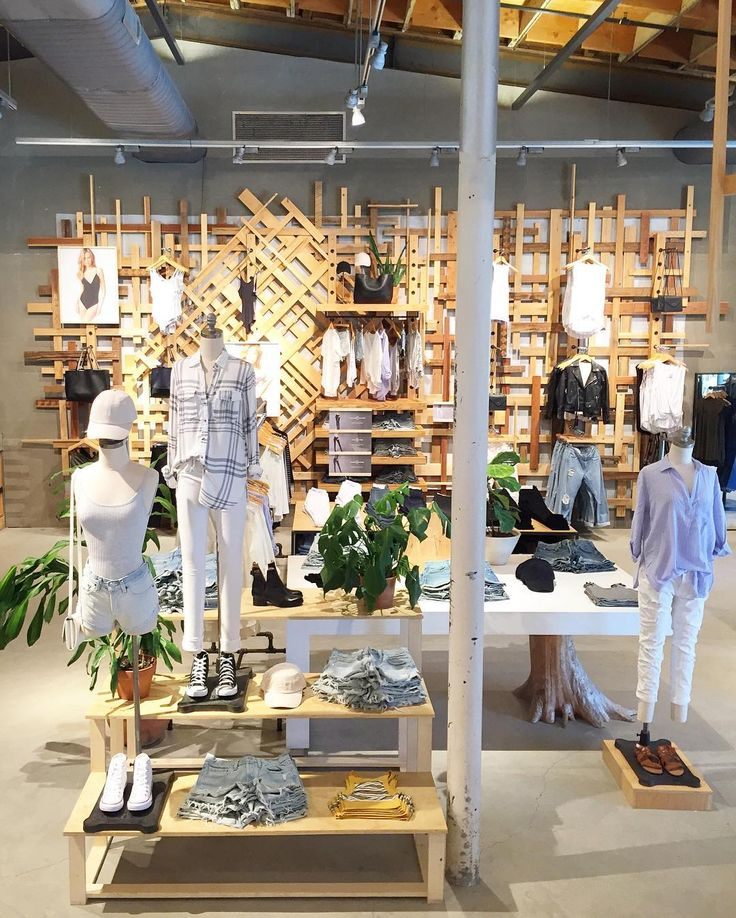 """URBAN OUTFITTERS, Malibu, California, """"In Malibu we hang out and chill"""", pinned by Ton van der Veer (mango store interior)"""