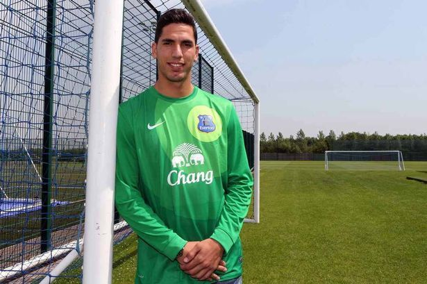 Joel Robles - new Everton goalkeeper