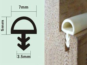 PVC door seal strip profile