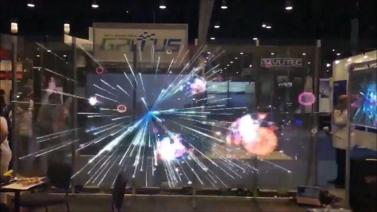Transparent Glass LED Screen