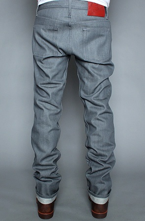 $140 The Weird Guy Jean in Grey Selvedge by Naked & Famous at karmaloop.com - Use repcode SMARTCANUCKS for an additional 20% OFF at the checkout on karmaloop.com