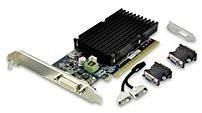 PNY Commercial Series VCG84DMS1D3SXPB-CG nVIDIA GeForce 8400 GS 1 GB DDR3 Video Card - PCI Express 2.0 x16 - 1 x DMS-59