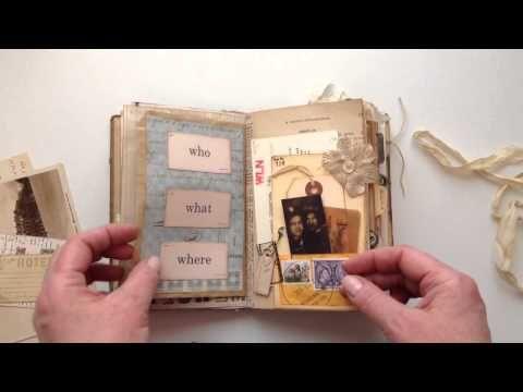 Vintage Ephemera Junk Journal for Lori - YouTube