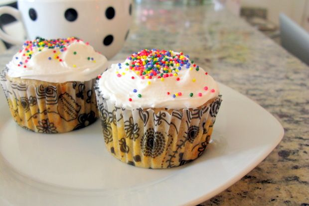 Cupcake recipe that makes only two cupcakes! Perfect for when you don't want an entire batch sitting around the house.