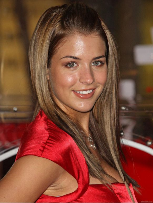 Gemma Atkinson - Born on 16 November 1984 in Bury, Greater Manchester, England (UK).