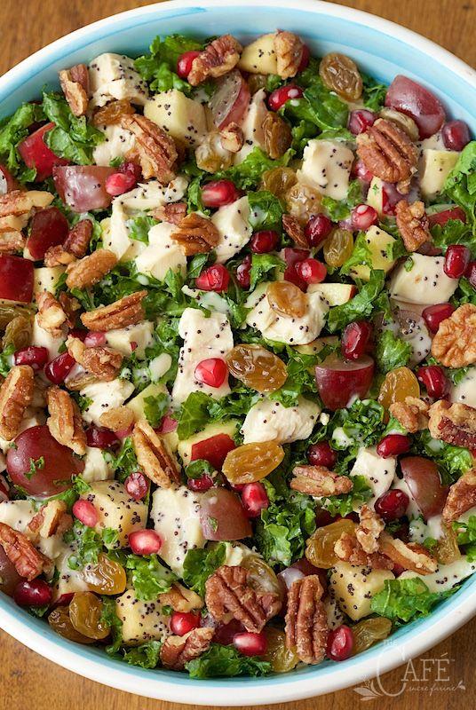 ... about Kale Apple Salad on Pinterest | Kale, Salad and Kale Salads