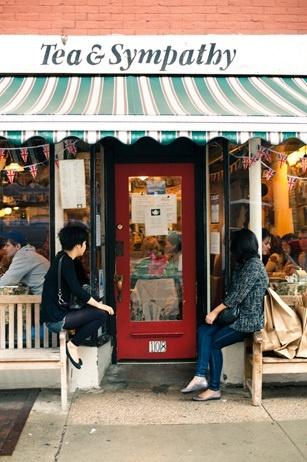 Tea & Sympathy -- West Village, NYC.