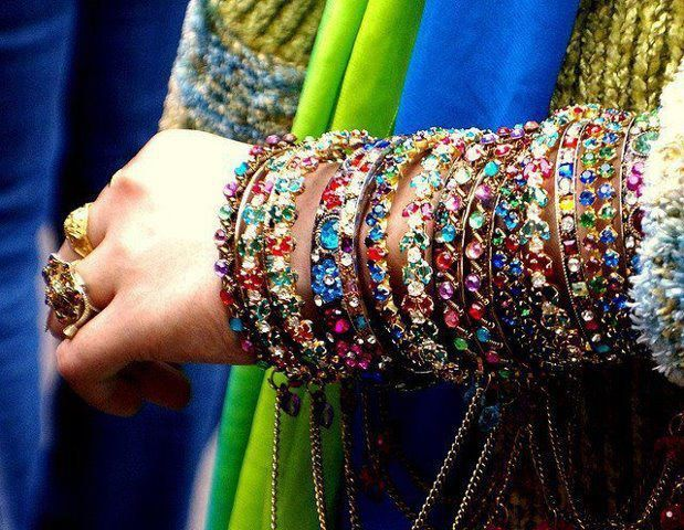 :) Indian bangles