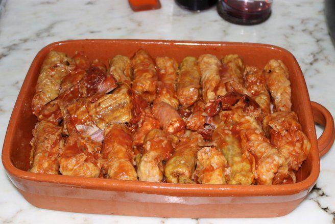 Retete Culinare - Sarmale in foi de varza creata