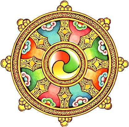 Wheel of Dharma. <3