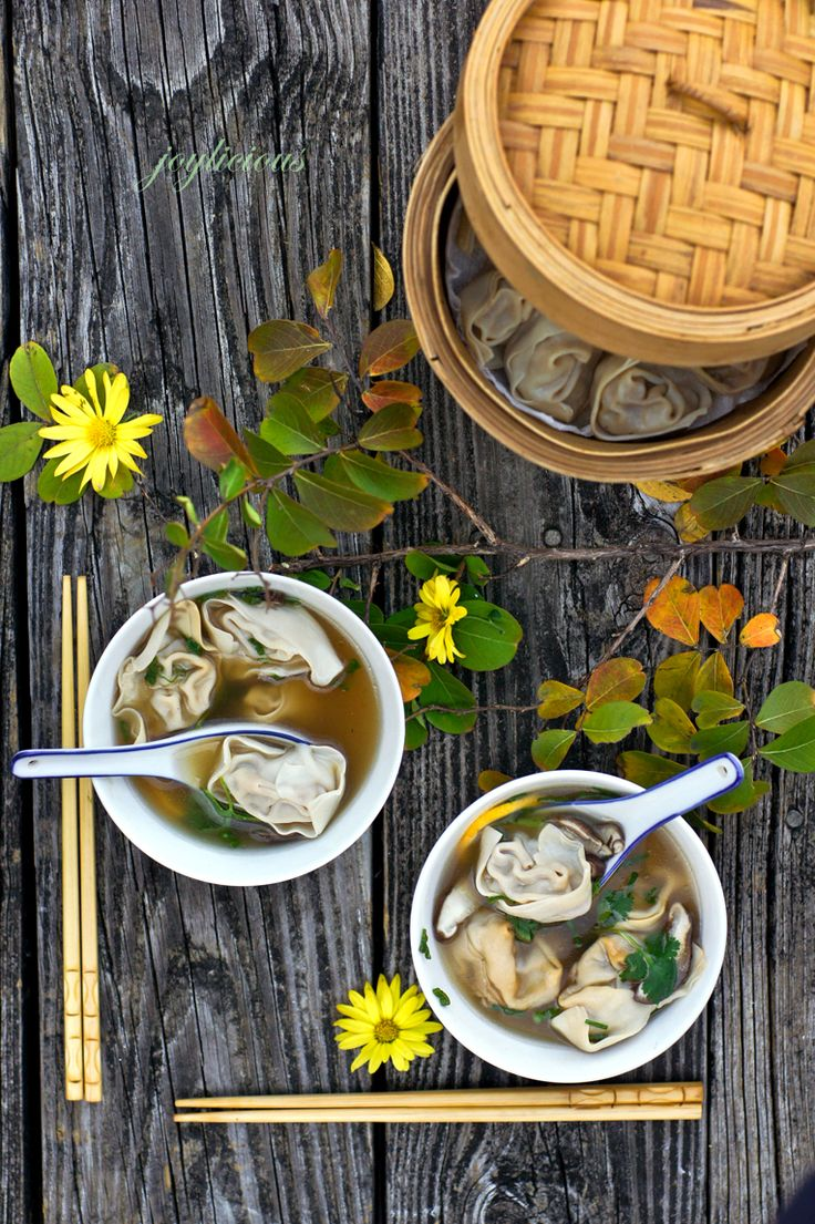 Authentic Wonton Soup - you HAVE to read the story that goes with this!