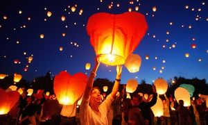 Groupon - Chinese Lanterns from ChineseSkyLanterns.com (Up to 61% Off). Two Options Available. in [missing {{location}} value]. Groupon deal price: $25