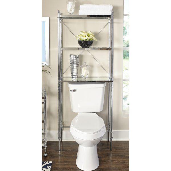 House Of Hampton Turquoise 25 98 W X 65 94 H Over The Toilet Reviews Wayfair Toilet Storage Space Savers Amazing Bathrooms