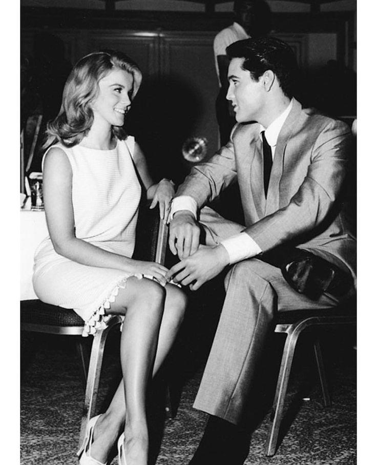 "70 Likes, 1 Comments - History In Pix (@historyinpix) on Instagram: ""(1963). Elvis Presley and Ann-Margret on the set of Viva Las Vegas."""