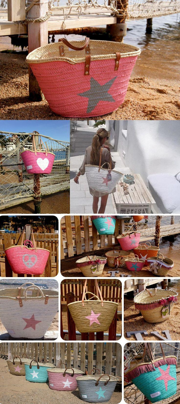 336 best capazos images on pinterest baskets moses basket and straw bag. Black Bedroom Furniture Sets. Home Design Ideas