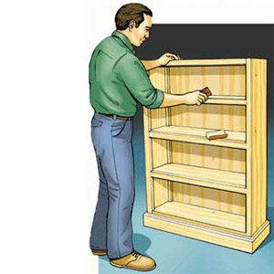 How To Build A Bookcase - Popular Mechanics
