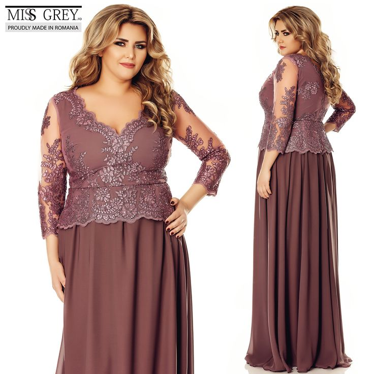 Be feminine and delicate wearing the Plus Size Rose Dress, which emphasizes your waist and slims your silhouette, for a very stylish appearance.