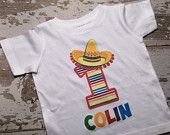 Personalized Fiesta Birthday Shirt
