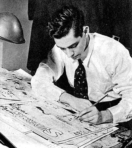 Today in Canadian Art History: January 16, 1939 - Joe Shuster Published His First Self-titled Superman Comic Strip